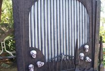 Halloween-Haunted House Ideas / Items to make for Kelly's Haunted House. / by Debbie Bailey Ray