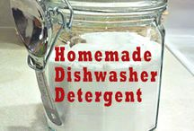 Homemade household cleaning products / by Sharon Hilton