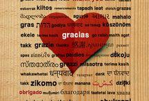 Láminas con frases motivadoras / Citas, palabras, tipografías, textos, idiomas