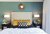 Master bedroom redecoration / by Danita MacDonald