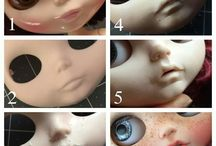 Blythe Dolls customizing