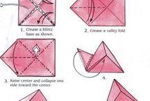 triangle origami paper
