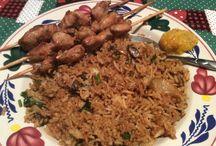 surinamse rijst met kip