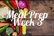 Weekly Meal Plans 1 / weekly meal  planning ideas, that shows breakfast lunch, dinner and snacks