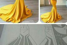 patrones vestidos de fiesta