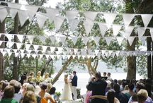 Bunting & Garlands / I bet you never would have thought of half these ideas / by Coast to Country Weddings