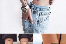 Небольшие татуировки