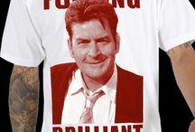 Charlie Sheen T-Shirts & More