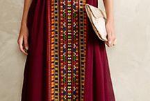 maxi dresses/ long kurtis