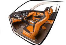 Concept car interior design