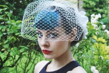 Talulahblue Birdcage Veils / A selection of birdcage veils, bridal veils and bandeau veils, for weddings and costume.