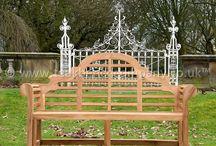 Lutyens Teak Garden Bench / Lutyens teak garden bench