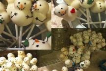 cake pops kerst winter