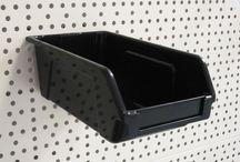 Plastic Storage Boxes / plastic slatwall boxes / hobby box / craft boxes / plastic trays