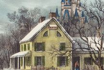 Currier and Ives / by Donna Beussink