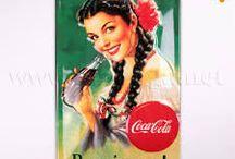 coca cola anuncis vintage