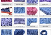 Knitting technics and how-to's