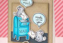 Lawn Fawn Mailbox