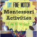 Montessori / Exploring ideas and extensions of a Montessori classroom.