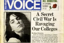 Village Voice Covers / by Robert Newman
