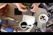 ceramic decoration / pottery