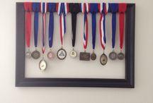 Medal displays