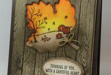 Card Making - Leaf Cards