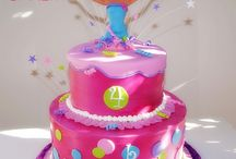 Birthday cake ideas  / by Misty Minley