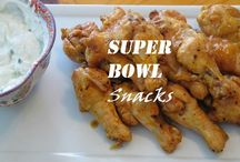 Super Bowl Recipes / Super Bowl snacks and finger food from kitchensinkdiaries.blogspot.com.