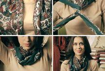 Платки шарфы