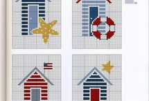 marine cross stitch