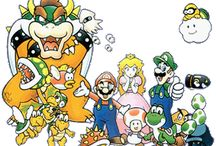 Super Mario Bros. Deluxe / A collection of artwork, screenshots and other images from Super Mario Bros. Deluxe on the Game Boy Color.  Visit http://www.superluigibros.com/mario-golf for more information on this game.