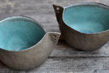 Bol oiseau / Ceramique