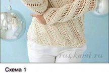 suéter crochet
