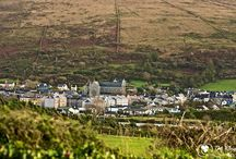 Cahirciveen Images / Cahirciveen is one of the westernmost towns in Ireland and hence one of the westernmost towns in Europe. The town lies at the foot of Beentee Mountain, on the river Fertha and overlooks Valentia Harbour on The Ring of Kerry, Ireland.