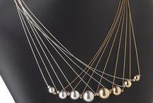 collar mostacilla y perla