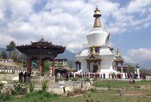 Memoral Stupa of Third king of Bhutan. #Thimphu #capitalofbhutan #bhutan #welcometobhutan robininbhutan@gmail.com
