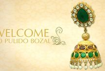 Pulido Bozal / Pulido Bozal has the most latest extensive collection of Jaipur Indian gold plated silver jewellery designs.