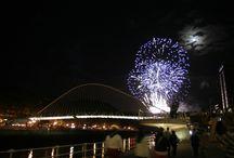 Fuegos artificiales, Fireworks / Fuegos artificiales del concurso internacional durante las fiestas de Bilbao #astenagusia