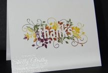 Stampin up - Seasonally scattered