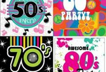 50's/70's party