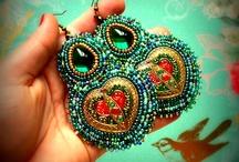 My Beadwork..... earrings / ...my favorite category