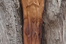 spiritual wood carving