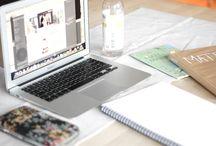 Working, blogging, reading..