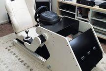 Cockpit casero