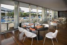 "Restaurant ""Sette"" / On the 7th floor at Radisson Blu es. hotel Rome"