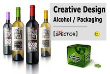 Creative Design. Alcohol / Packaging