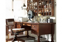 My Home Workspace / by April Wolfe