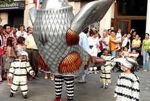 Europe-Masques-marionnettes traditionnels- animaux