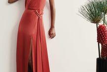 vestidos cortes oblicuos